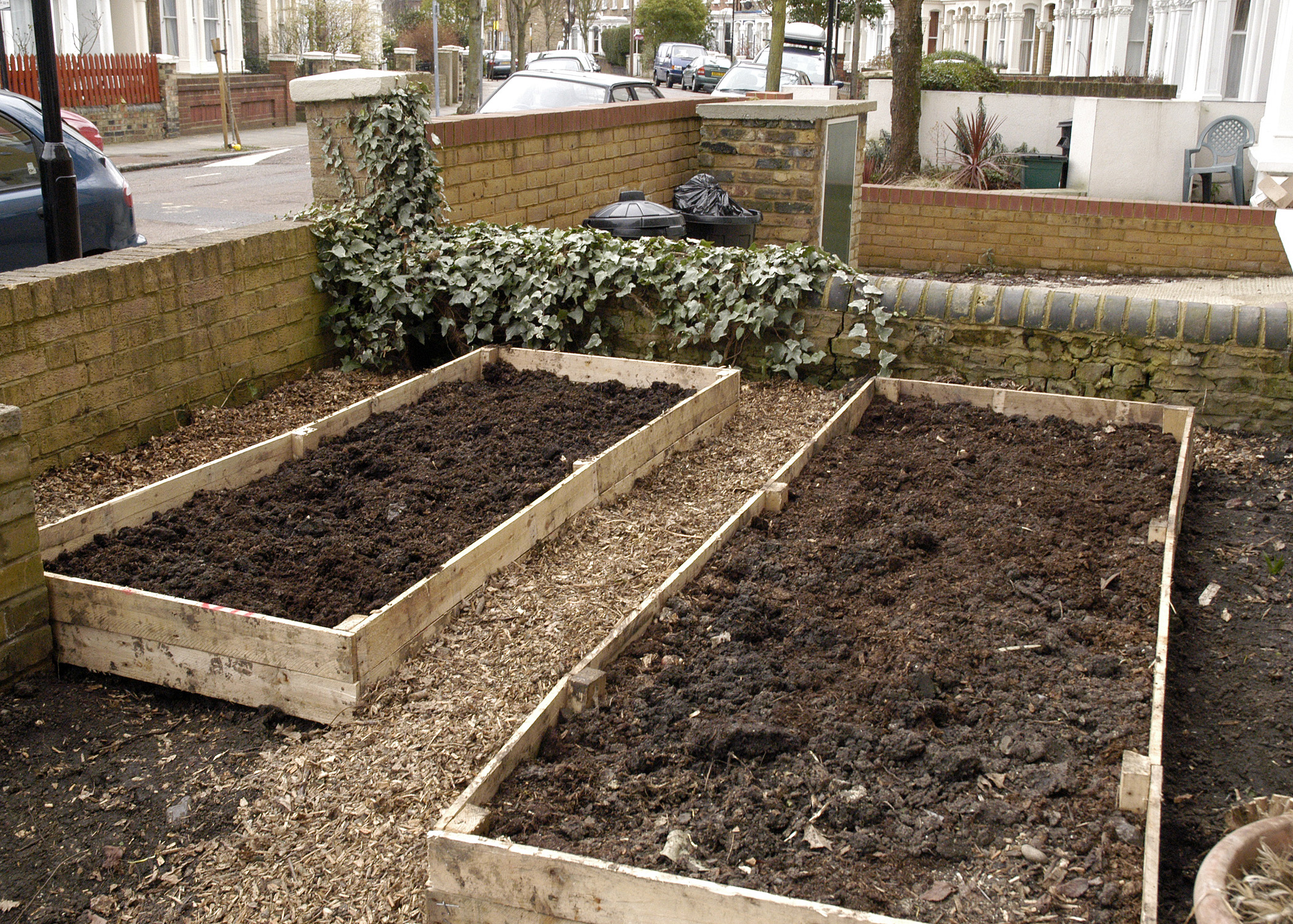 Making Free Raised Beds From A Palette It S Easy Ish Out Of My Shed