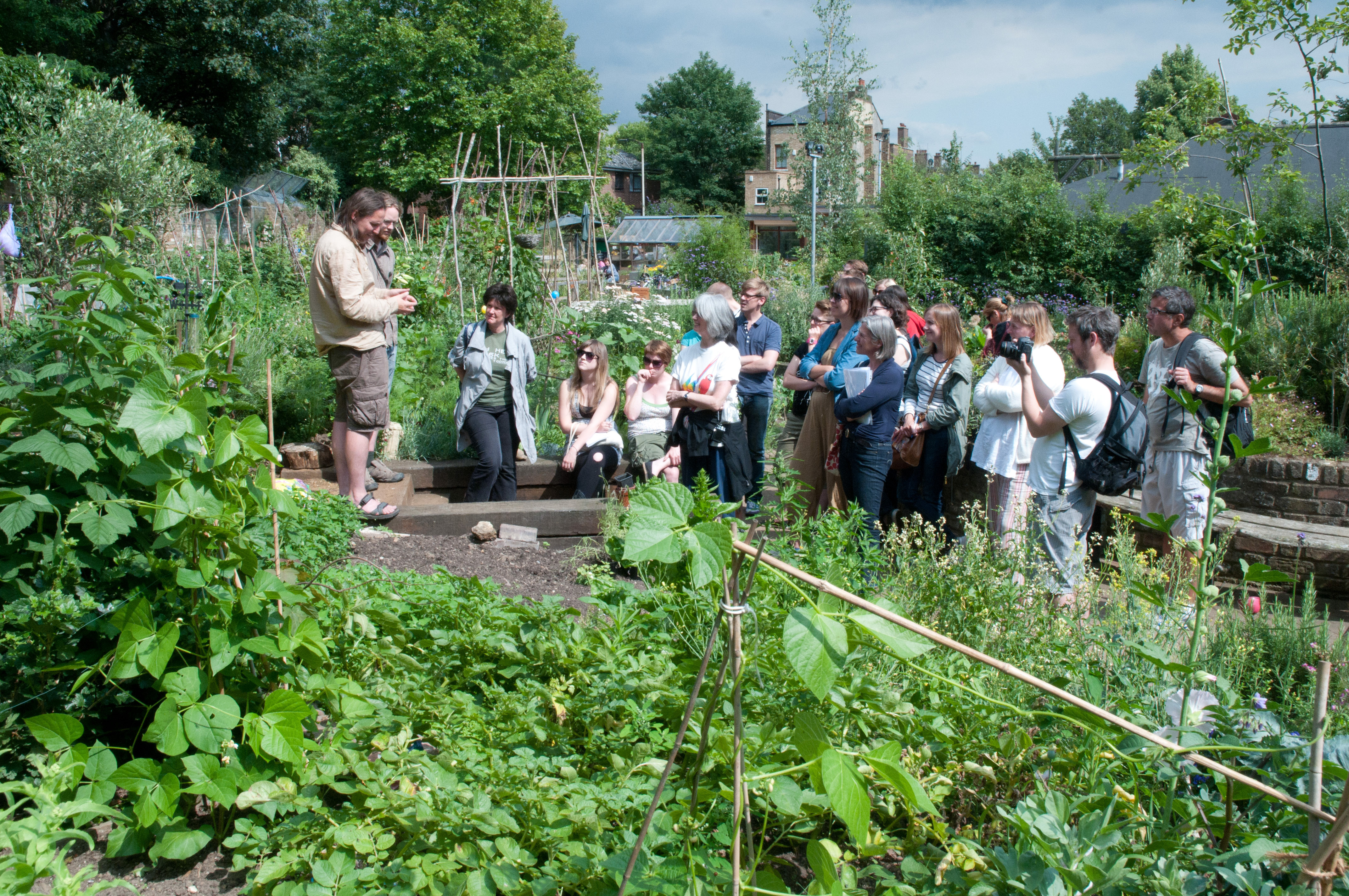 gardening courses and talks out of my shed