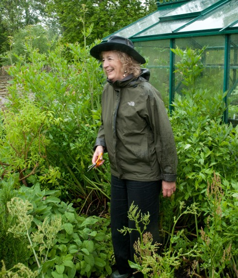 Judith Hann amongst the Lovage 4