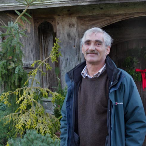 Kemal Mehdi at Great Dixter
