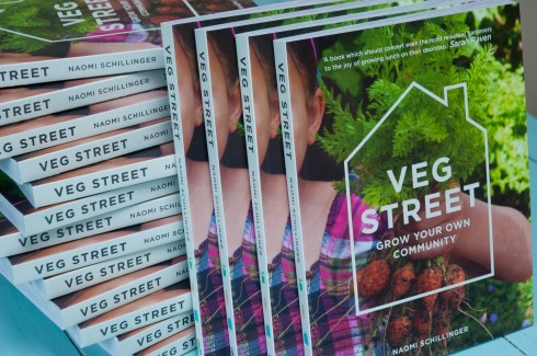 Veg street cover for give away