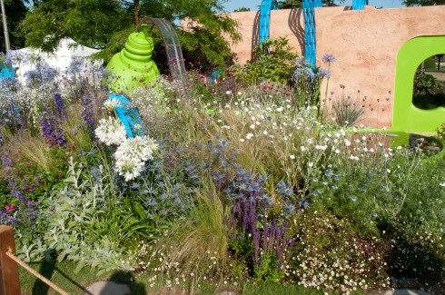 Matthew Childs' Ecover Garden