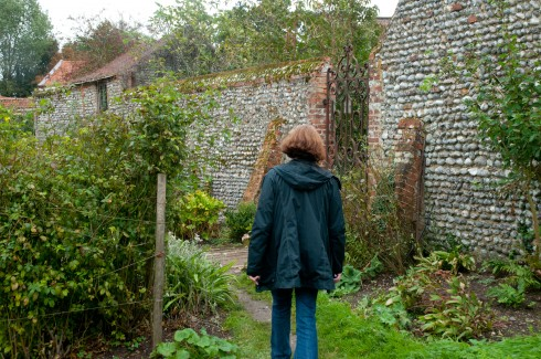 Wander in Wiveton Hall Kitchen Garden