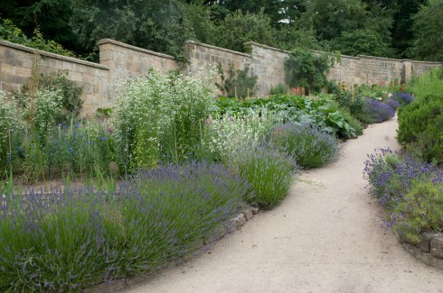 Walled veg garden at Gravetye Manor